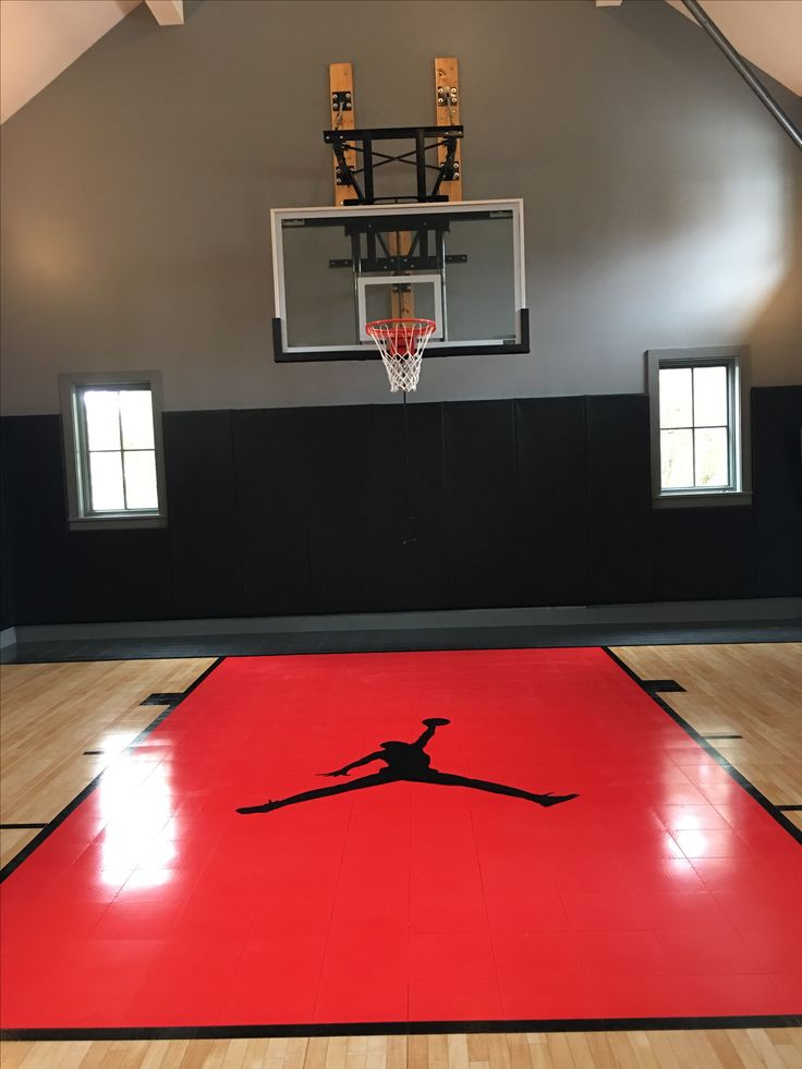 25 best ideas about basketball court on pinterest for Basketball garage