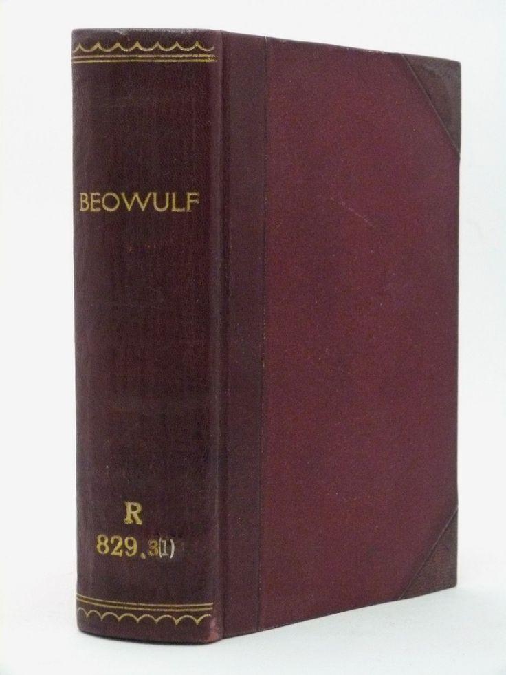 Beowulf  - the rare 1837 John Mitchell Kemble translation