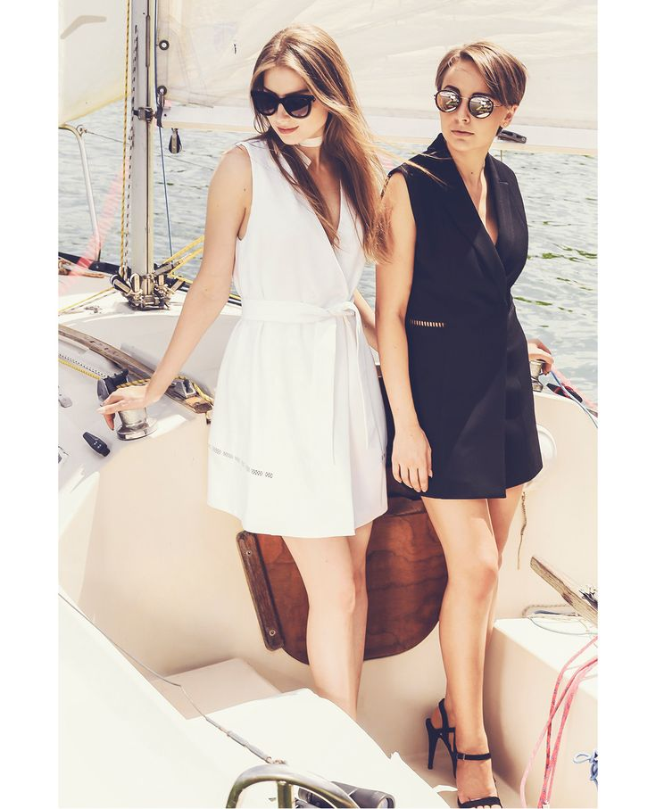Raquette Resort Capsule 2016 #tuxedo #dress #party #look #black #white #new #collection #resort #2016 #spring #summer #voyage #travel #maisonraquette