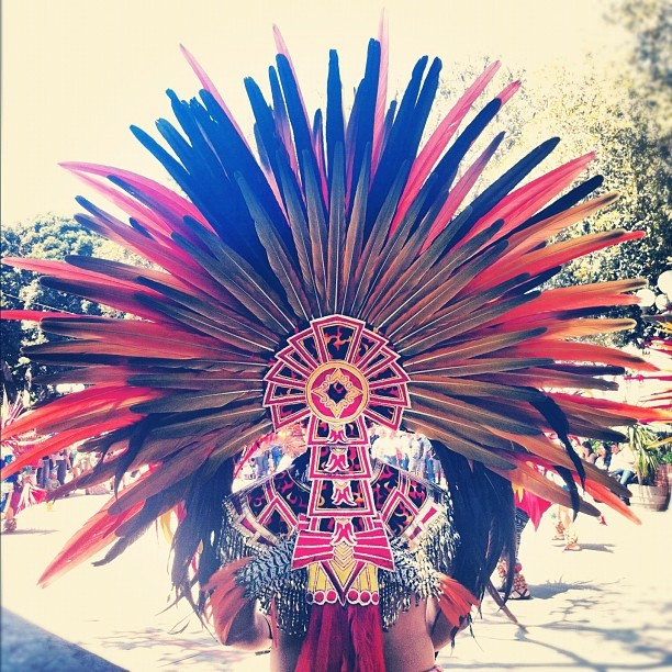 #aztec dancer