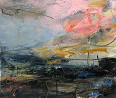 Louise Balham :: Pink Cloud, Dartmoor