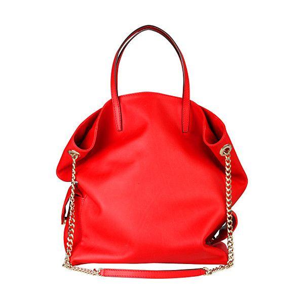 OOOK - Carolina Herrera - CH Women's Accessories 2011 Fall-Winter -... ❤ liked on Polyvore featuring bags, handbags, shoulder bags, purses, сумки, man bag, hand bags, handbags shoulder bags, handbags purses and red handbags