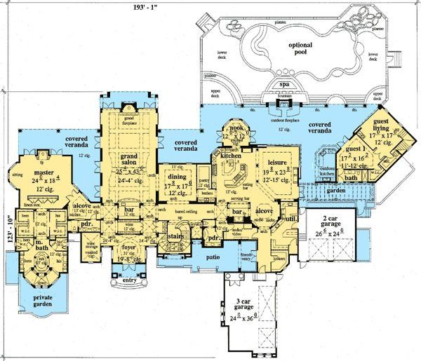 135 best House Plans images on Pinterest | Cottage floor plans, Home ...