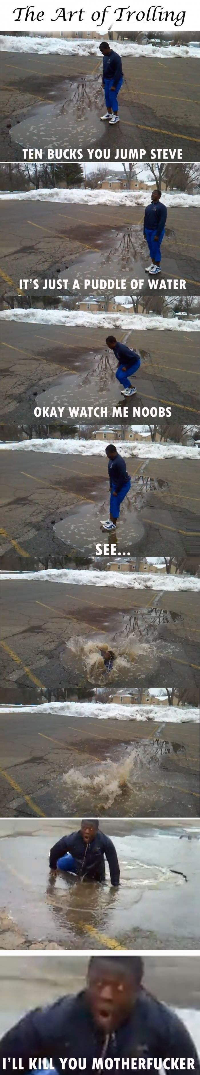 The art of trolling  - funny pictures #funnypictures