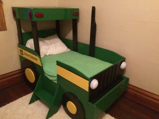 John Deere Bed Plans : John deere tractor bed plans imgkid the image