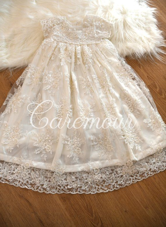 3e46ceb625c20 Antonia - Couture Christening Gown, Christening gown. Christening ...