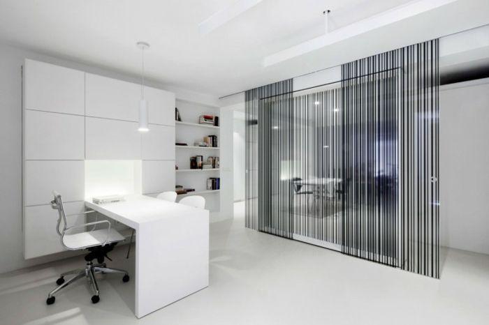 Cloison Amovible Ikea Separer L Espace Du Bureau Sol En Lino
