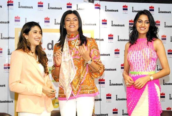 "Sushmita Sen and Himangini Singh Yadu at ""Eat Delete"" Book Launch. | Bollywood Cleavage"