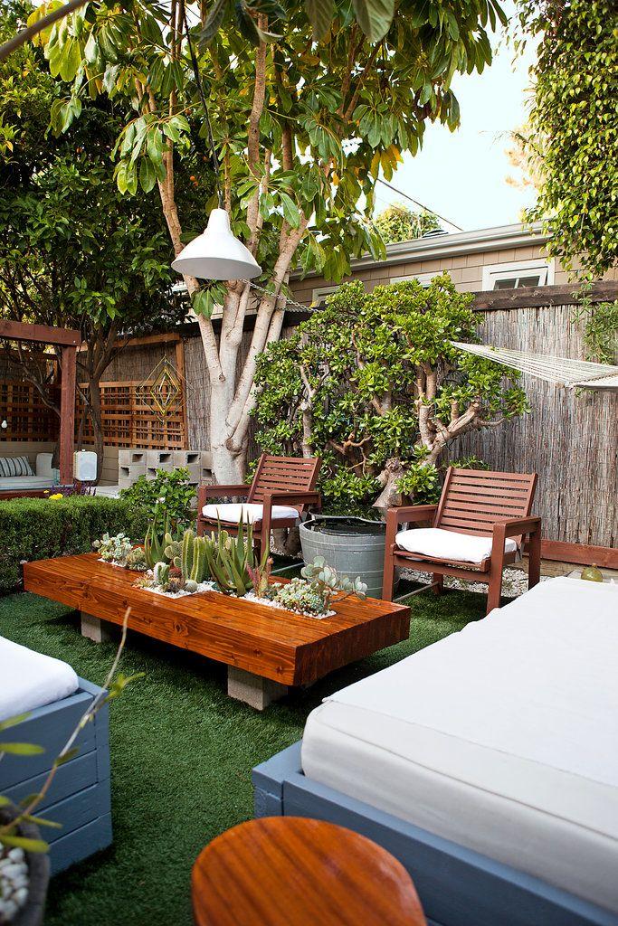 lush garden dinner parties outdoor spaces outdoor living outdoor furniture cactus concrete patios at home sleep. beautiful ideas. Home Design Ideas