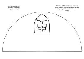 Klobúk so slovenským znakom