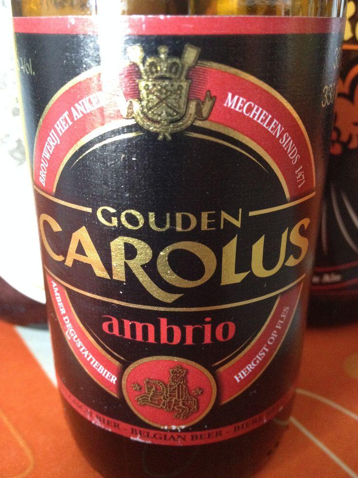 Gouden Carolus Ambrio  Brewed by Brouwerij Het Anker Style: Belgian Strong Ale Mechelen, Belgium