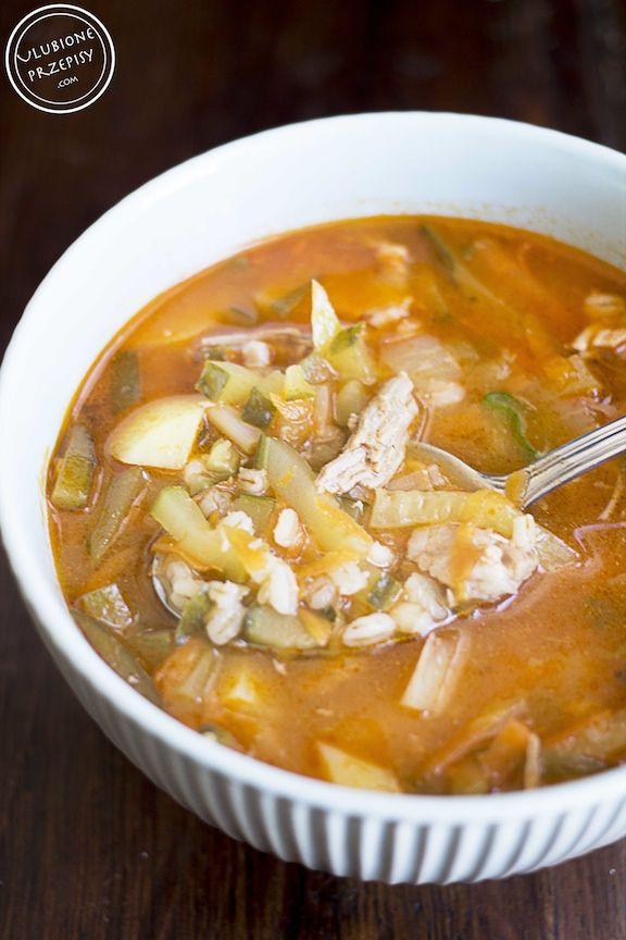 Rossolnik - rosyjska zupa ogórkowa http://ulubioneprzepisy.com/2015/05/20/rassolnik-rosyjska-zupa-ogorkowa/