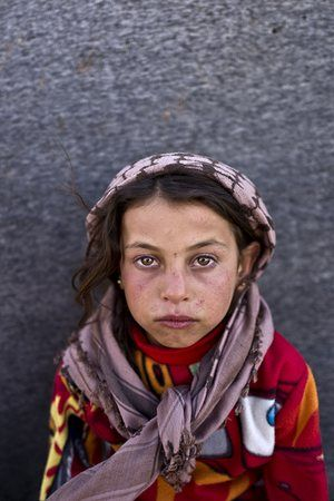 Portraits of Syrian child refugees – in pictures | World news | The Guardian