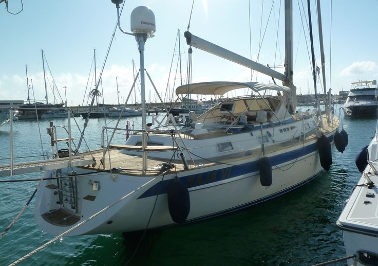 Hallberg-Rassy 53 for Sale - Opportunity.   Equipped for Ocean Cruising, navigation and communication devices. Hydraulic main sail furler and Genoa furler. New sail from 2012, not used, Tafeta and kevlar laminate main sail, Tafeta and kevlar laminate genoa + Staysail with furler.