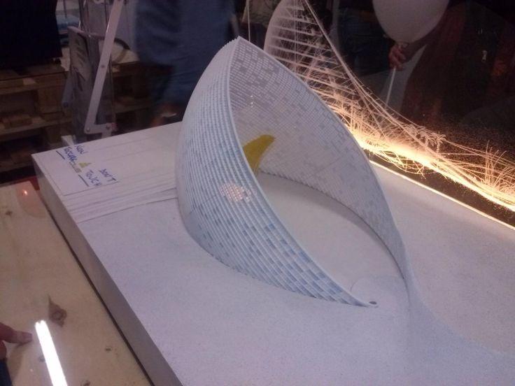 stampe di progetti architettonici. http://www.makeinnuoro.it/la-maker-faire-rome-2015-le-nostre-impressioni/