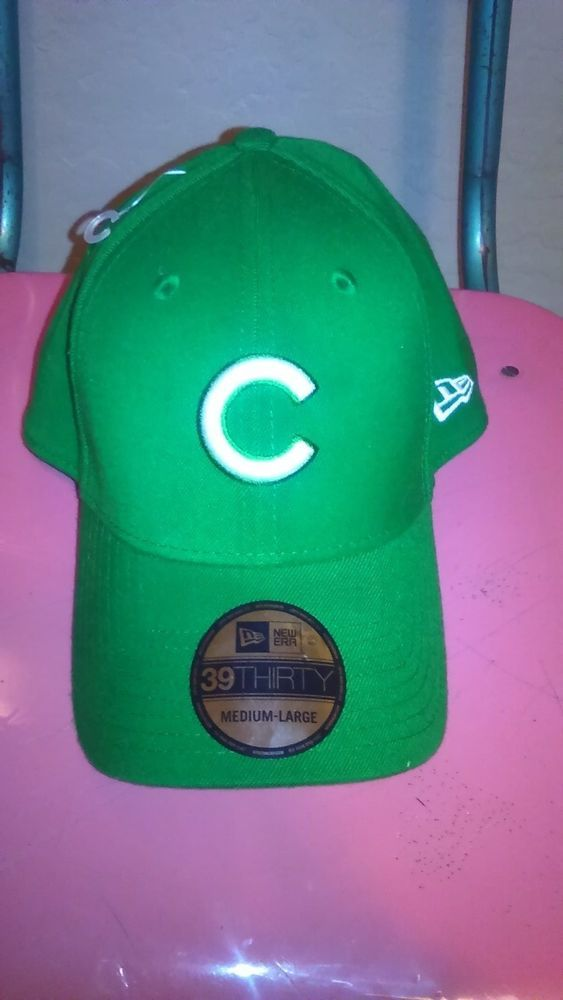 Chicago Cubs Hooley Classic New Era hiMLB Green Hat Cap St. Patrick's Day M/L #NewEra #ChicagoCubs