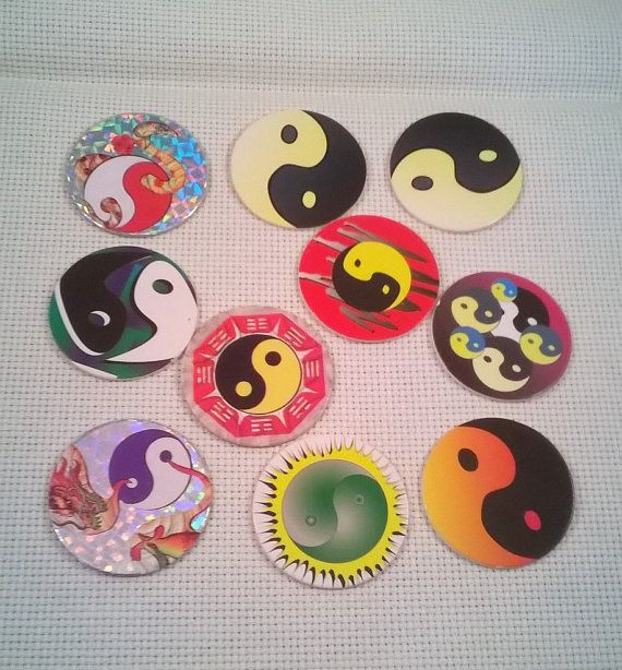 Image result for yin yang pogs