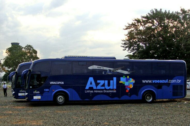 Azul Airlines Airport Transfer Buses