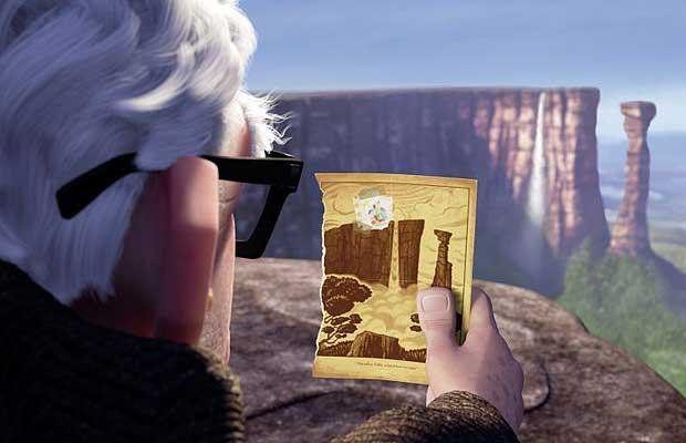 ВЕНЕСУЭЛА, ВОДОПАД АНХЕЛЬ  «Вверх»  Главный герой мультфильма «Вверх» Карл Фредриксен и его жена Элли всю жизнь мечтали отправиться в Южную Америку к Райскому водопаду. А знаешь ли ты, что прототипом для этого чуда природы послужил реальный водопад Анхель? Самый высокий в мире! Сложно даже описать, какие чувства испытывает человек, впервые оказавшись там. Лучше один раз увидеть:)