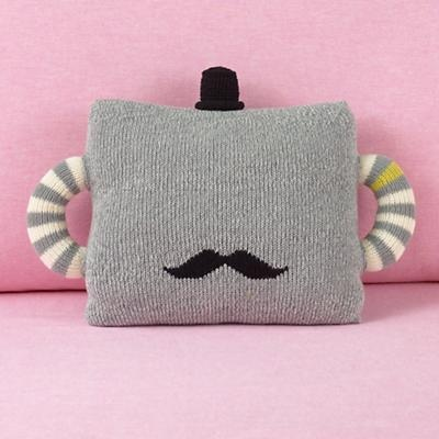 So getting this cute little cuddly 'tache