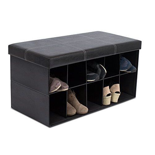 Shoes Rack Organizer Storage Home Furniture Bench Floor Portable 31.5 x 16 Stand #ShoesRackHomeFurnitures