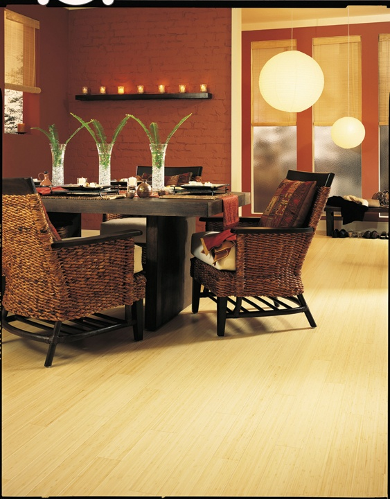 Solid bamboo flooring eco friendly available at avalon for Eco friendly bamboo flooring
