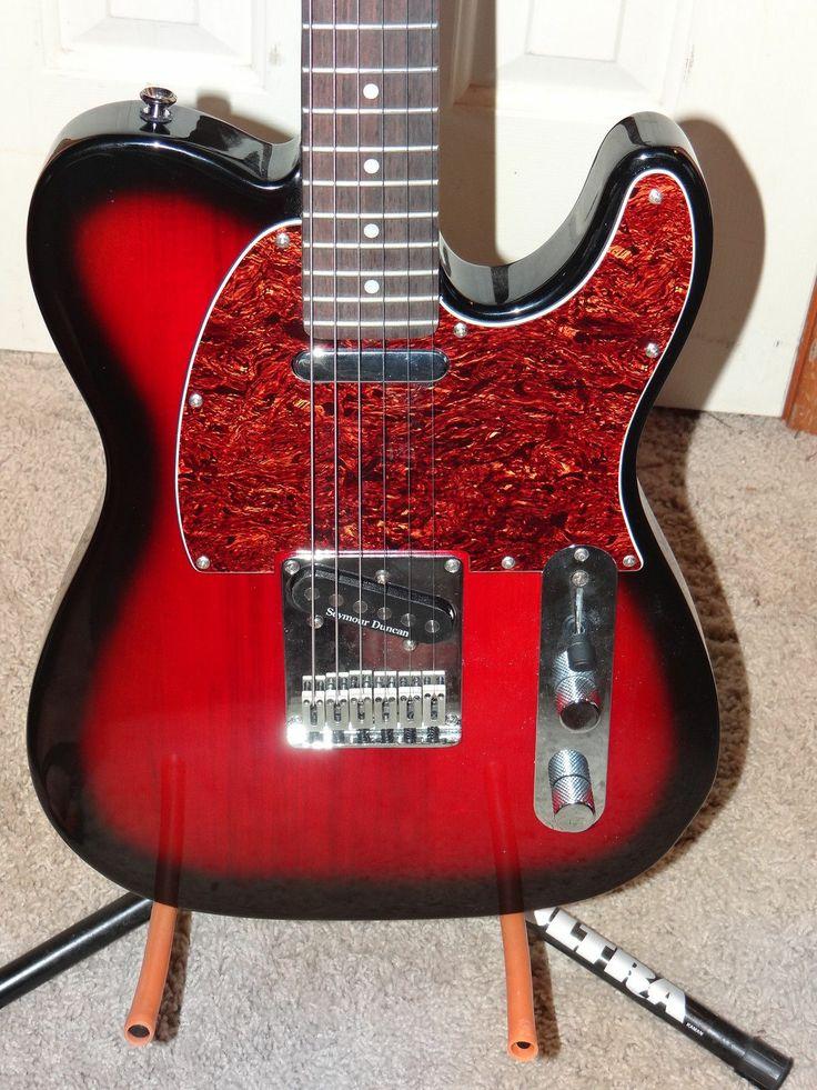 Squier Standard Telecaster Electric Guitar with Seymour Duncan Quarter Pound