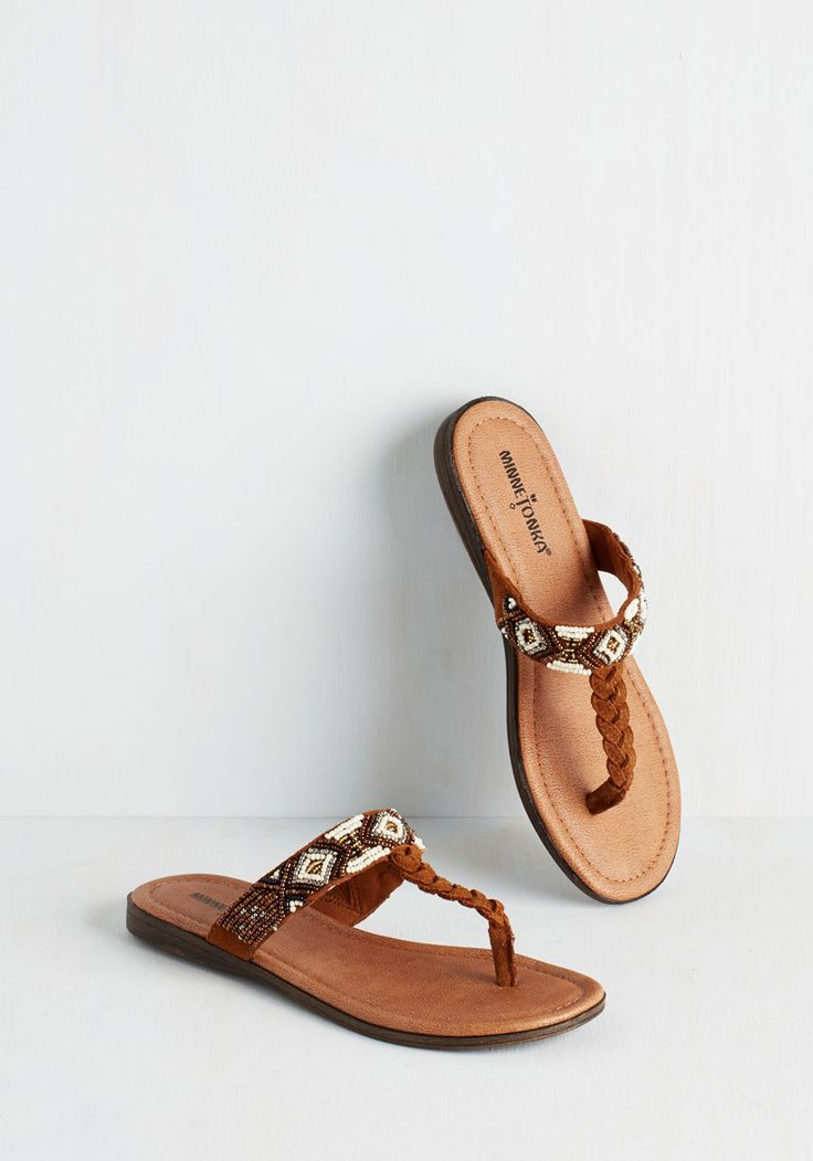 Bead Between the Lines Sandal. Stroll to the park and delve into your  literature review