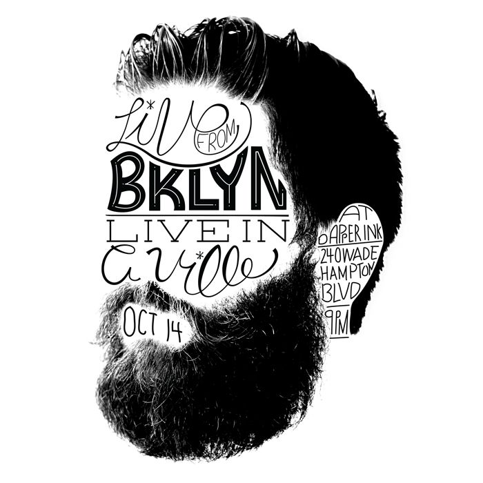 hand-lettering poster by dailey crafton