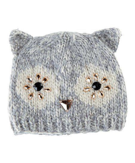 San Diego Hat Company Owl Ear Beanie | zulily