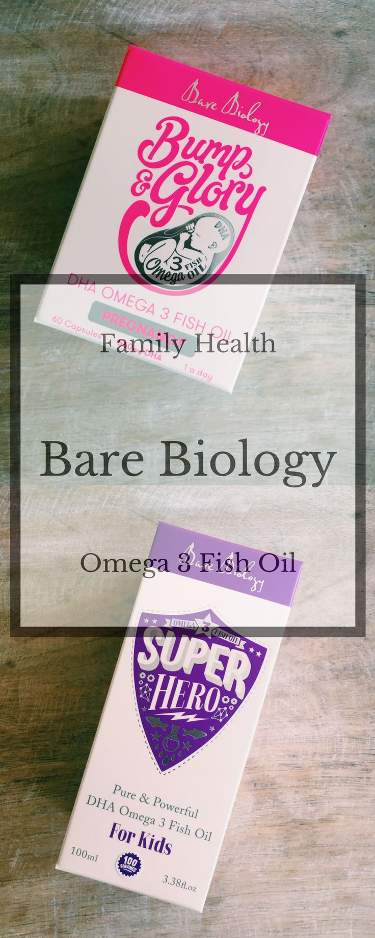 Omega 3 oils from Bare Biology that are easy for children to take and perfect for whole family health.