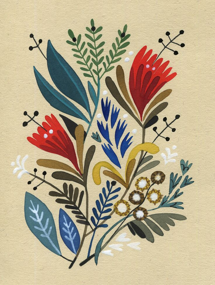 felicita sala illustration: bouquets