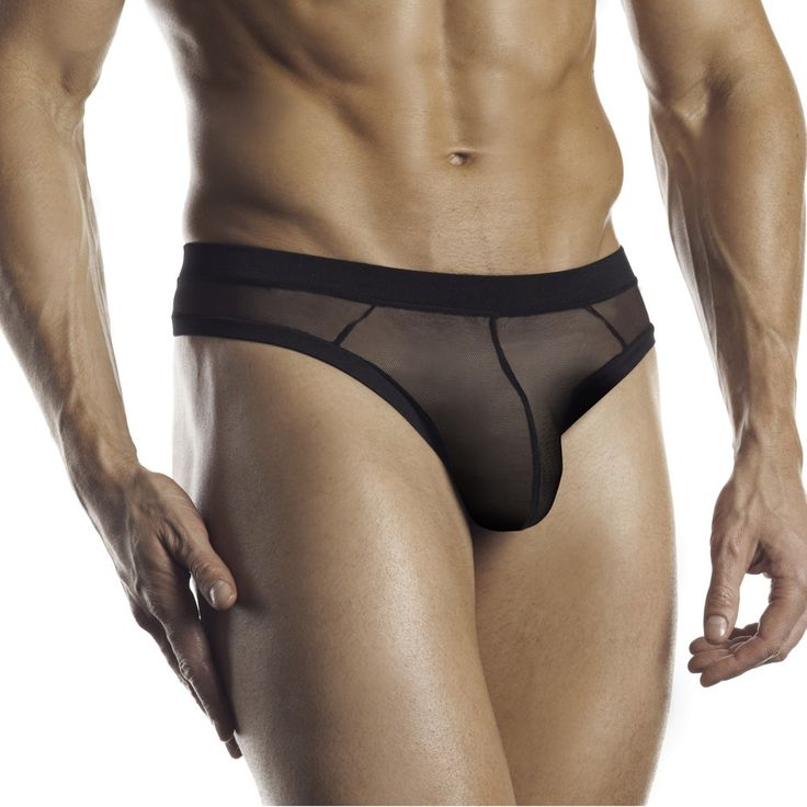 Fantasy Lingerie Excite for Men Black Ultra Soft Mesh ...