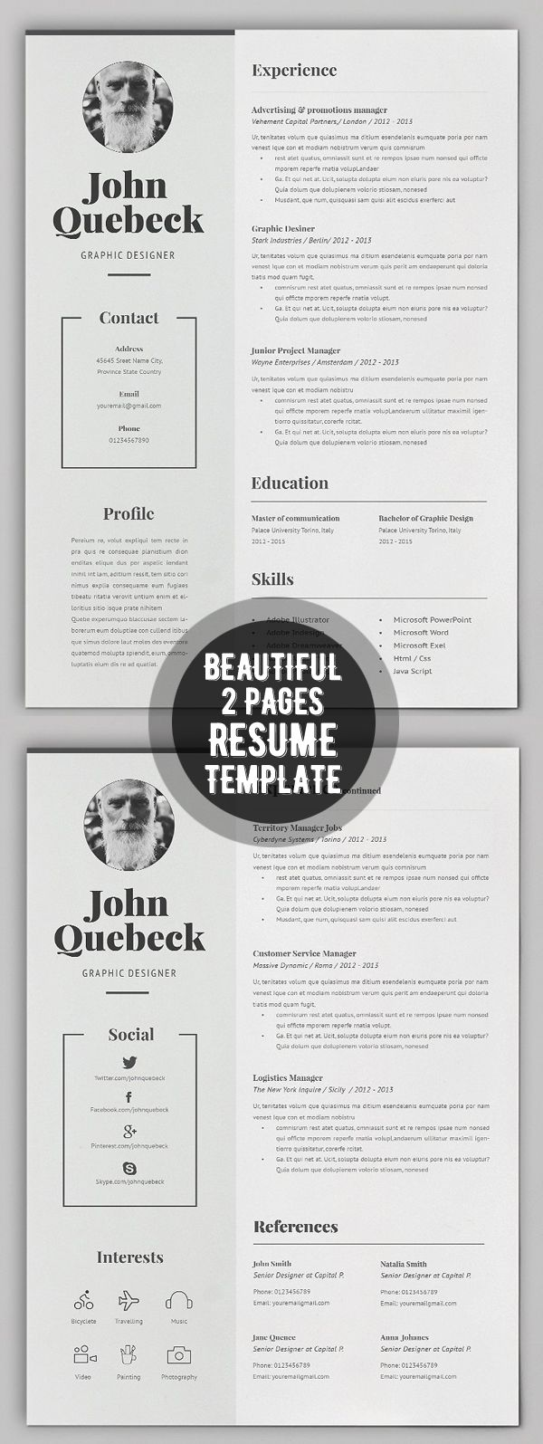 The 25+ best Cover page template ideas on Pinterest | Cover page ...