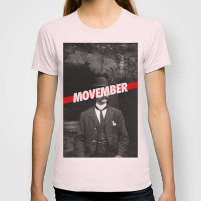 Movember T-shirt by grafik ' prod - $22.00