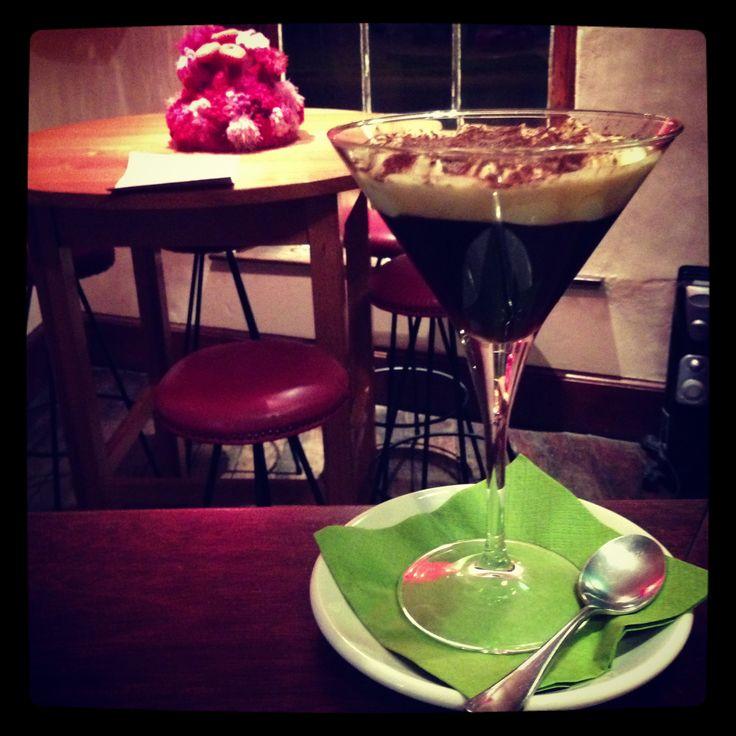 Irish coffee in the bar!