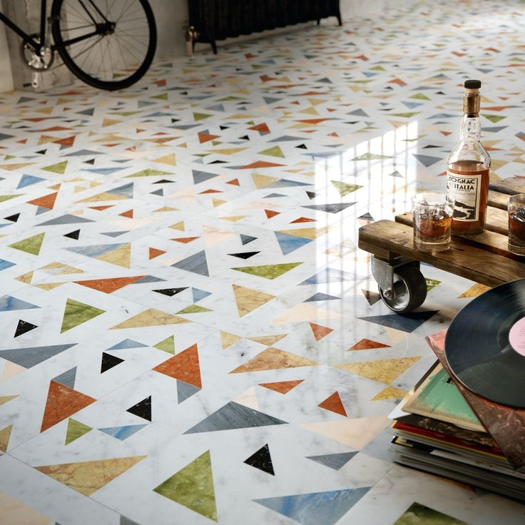 OPUS - marble inlaid walls and floors - ALLEGRO | Lithos Design