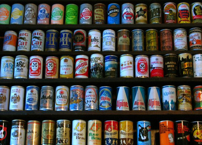 Did you know that on Jan. 24, 1935 the First Canned Beer Sold?! | In 1935 Krueger's Cream Ale and Krueger's Finest Beer were the first beers sold to the public in cans. Canned beer was an immediate success. The public loved it, giving it a 91 percent approval rating.
