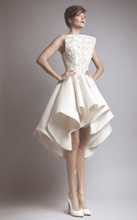 Ashi Studio - Couture I usually don't like a mullet dress, but this is very pretty