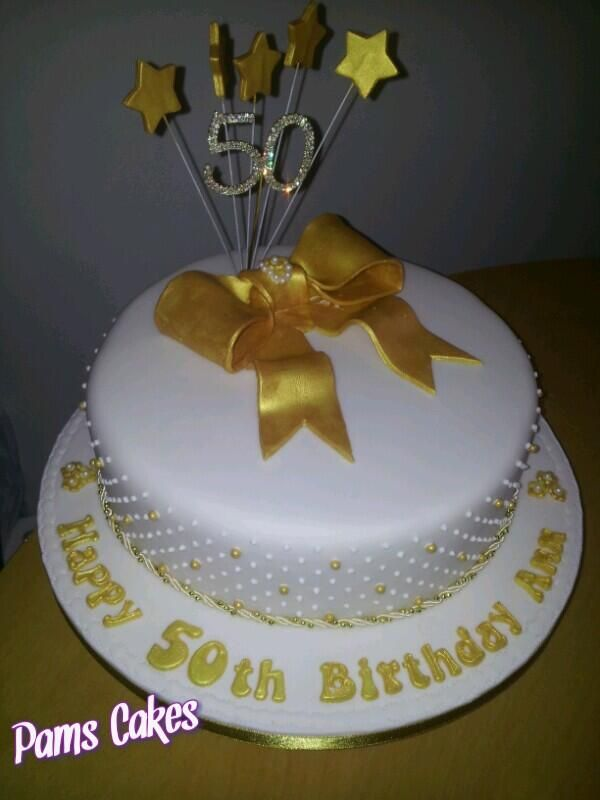 50th Birthday Cake Pictures For Her : Pin 50th Birthday Cakes Designs For Women on Pinterest