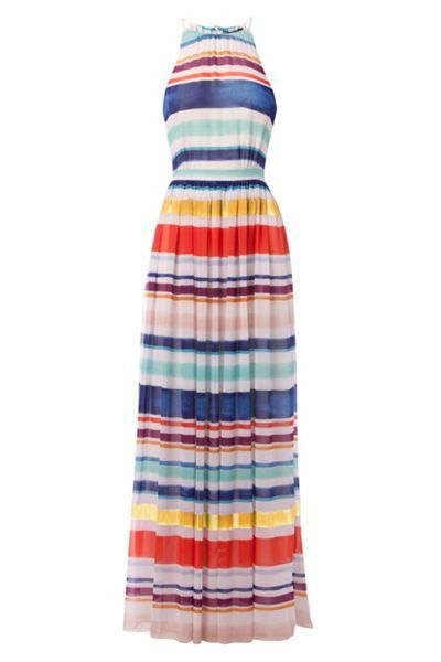 Agatha Chiffon Maxi Dress with link: https://www.houseoffraser.co.uk/women/tommy-hilfiger-agatha-chiffon-maxi-dress/d780602.pd#260170045 and I_8719253873416_00_20170329.?utmsource=pinterest