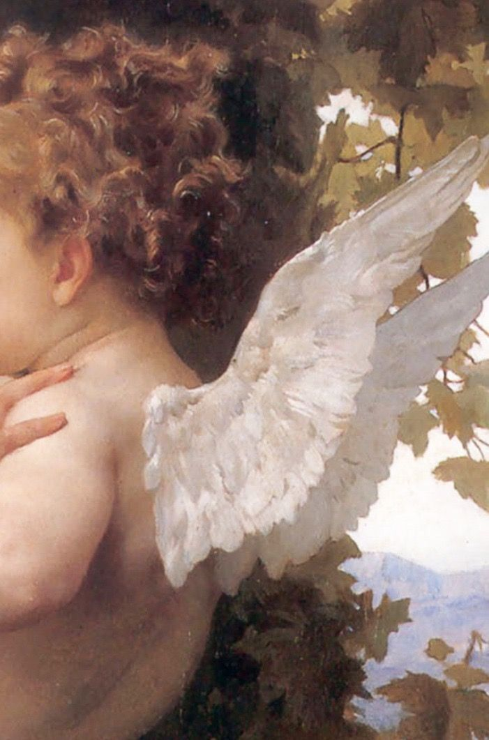 Classical Art William Adolphe Bouguereau Angel Painting Painting Renaissance