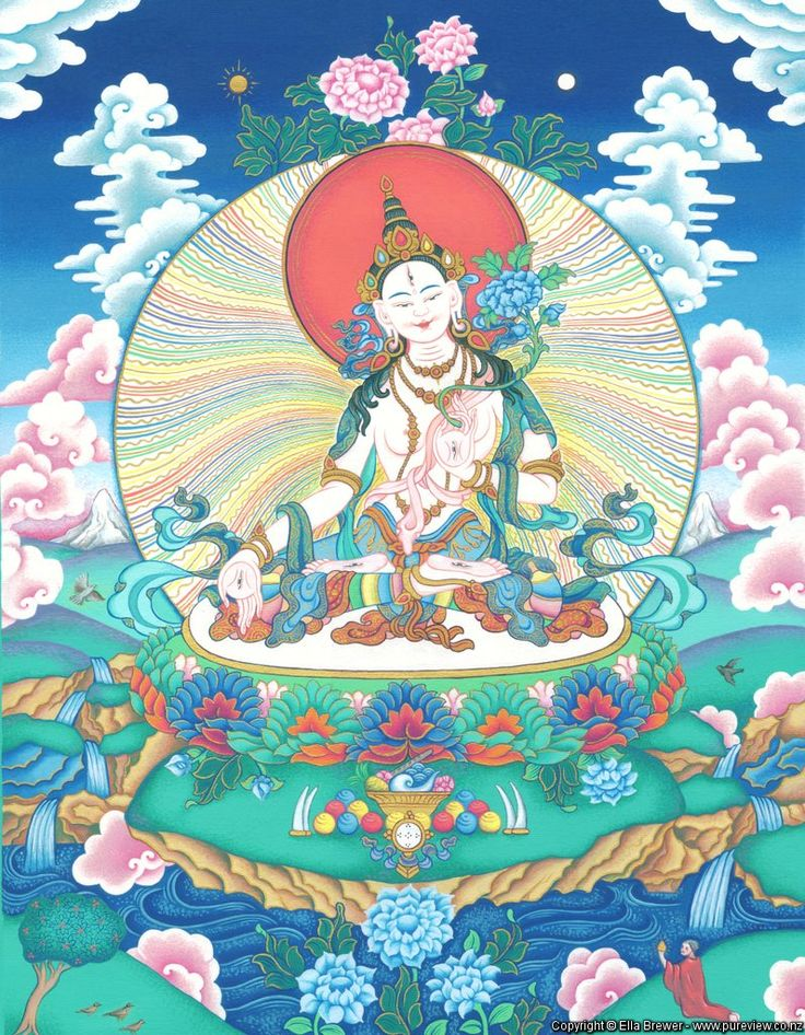 White Tara by artist Ella Brewer