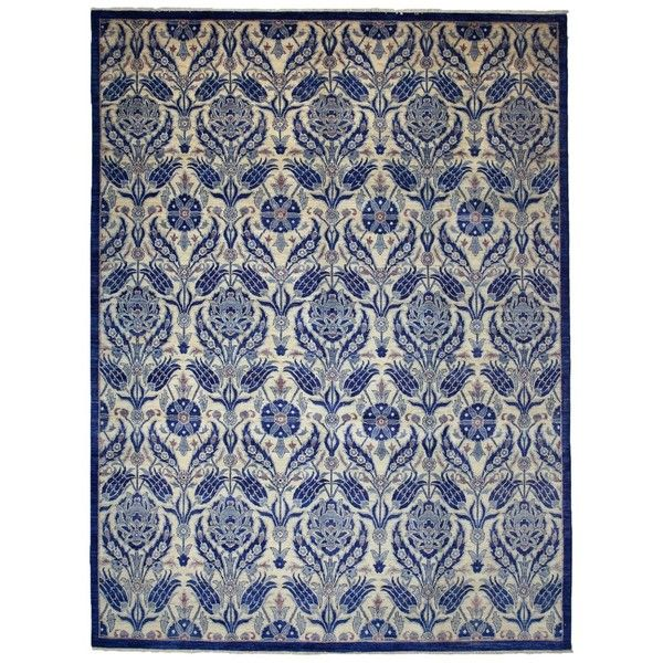 """Suzani Collection Rug, 9' X 11'10"""", One Of A Kind"""