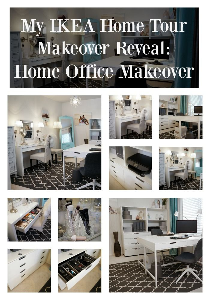 IKEA Home Tour Makeover episode on home office ideas!