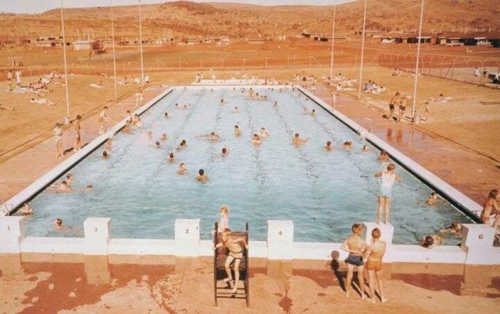 Karratha swimming pool, 1960s