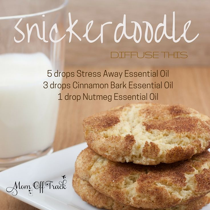 This snickerdoodle essential oil diffuser recipe is so yummy smelling. Skip the mess and calories of baking cookies and put this in the diffuser instead.