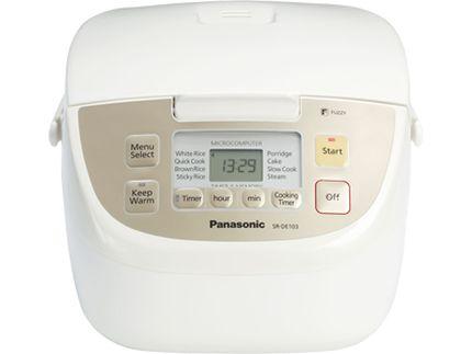 Panasonic Rice Cooker - SR-DE103 - Panasonic US