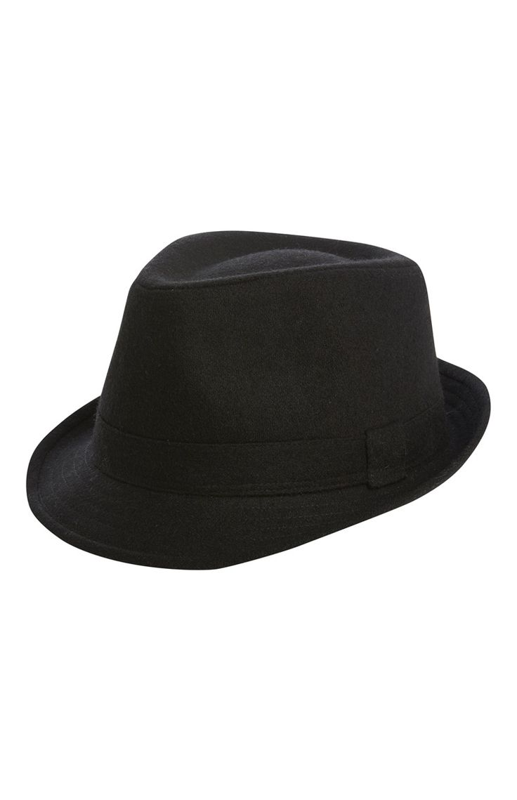 Primark - Zwarte trilby-hoed