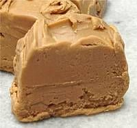 Penuche fudge ..made with brown sugar, butter. milk, cream and vanilla. ~K~